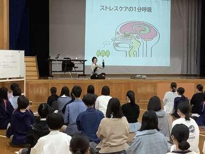 京都銅駝高校授業